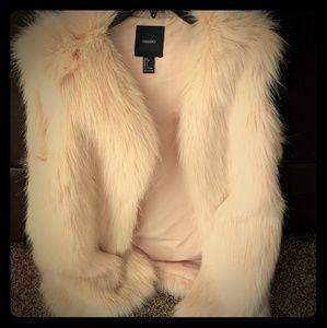 Fur vest Jacket